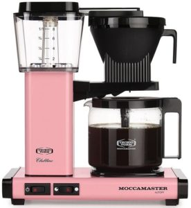 pink coffee maker review